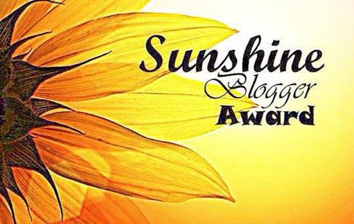 Image result for sunshine blogger award